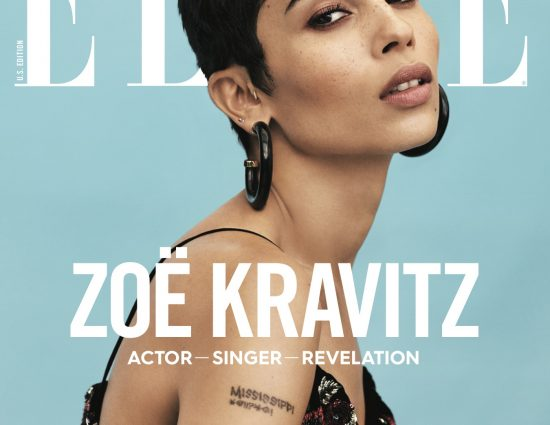 Zoë​ Kravitz for Elle January 2018